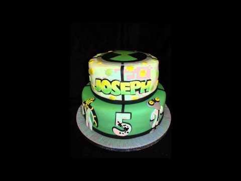 Ben 10 Fondant Cake