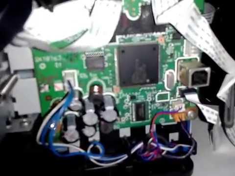 CANON MP287 เปิดไม่ติด ติดแล้วดับ NO POWER ON fix by replace motor