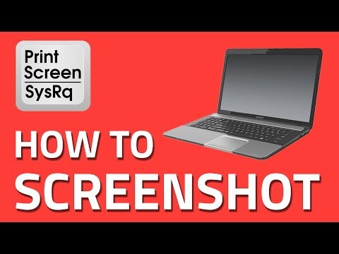 Screenshot on Toshiba Laptops A simple step by step guide