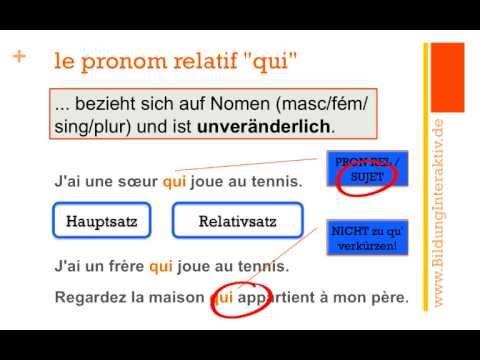 Xxx Mp4 Les Pronoms Relatifs Qui Que Où Teil 1 3gp Sex