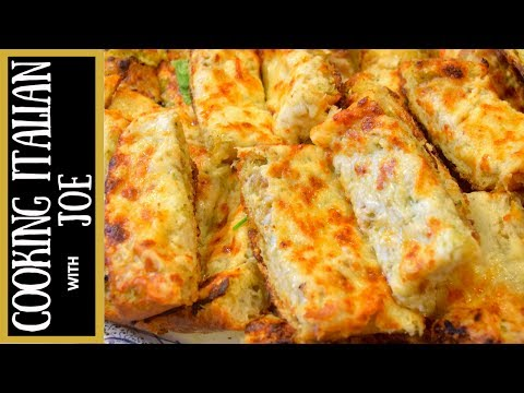 How to Make Garlic Bread with Gooey Cheese Cooking Italian with Joe