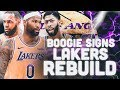 Demarcus Cousins Signs New Look LA Lakers Rebuild NBA 2K19
