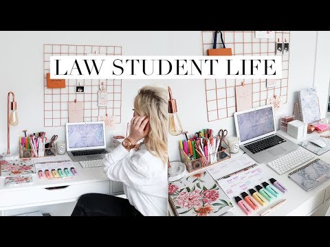 A DIFFICULT WEEK IN LAW SCHOOL | DC Diaries #18