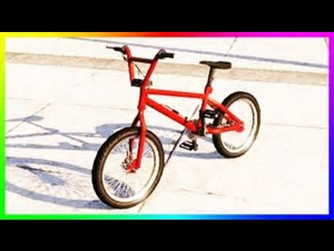 GTA5 ONLINE/ HOW TO GET A COLORED BMX BICYCLE/ ON ALL CONSOLES
