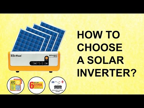 How to Choose an Off-Grid Hybrid Solar Inverter/UPS? Su-Kam Brainy Eco