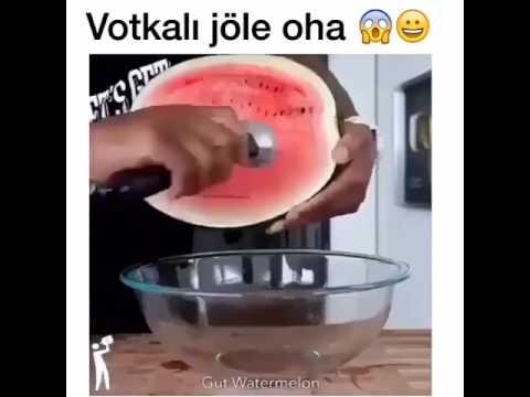 Votkalı jöleli karpuz 😍👏👏