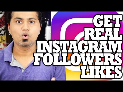 Get 100% Real Instagram Followers & Likes spending 15 minutes A Day