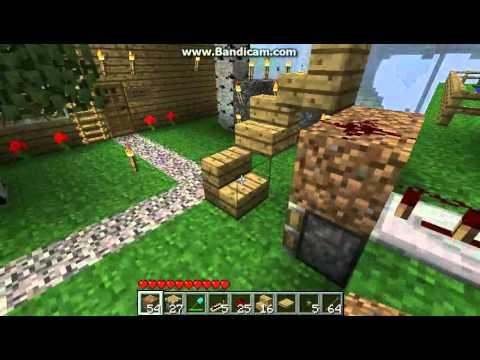 Minecraft nonsticky Piston Elevator (1.7.3)