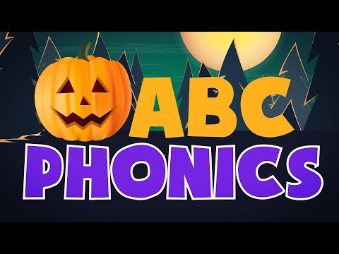 🎃 Halloween ABC phonics   Pumpkin Letter Sounds   Kids Learning Videos   Lotty Learns