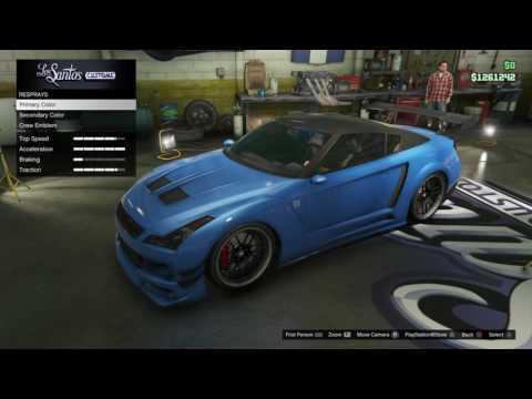 GTA 5 Fast and Furious 6 Nissan Skyline GT-R R35 Build.