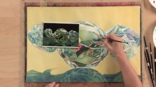 Preview | Vibrant Watercolor Techniques: Painting Silver With Soon Y. Warren
