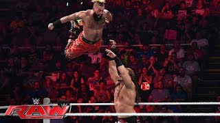 Enzo Amore & Big Cass vs. Luke Gallows & Karl Anderson: Raw, July 11, 2016