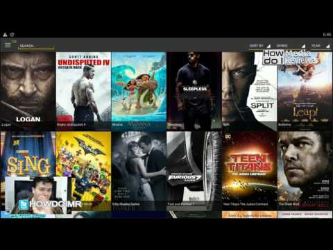 Latest movies and TV shows without KODI