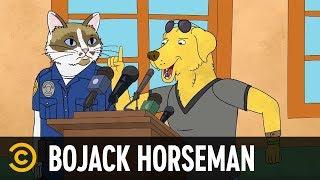 """Mr. Peanutbutter Steals the """"D"""" - BoJack Horseman"""