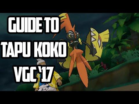 Guide to Tapu Koko: VGC '17 Analysis (Pokemon Sun/Moon)