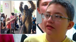 Superheroes Show Up To 13-Year-Old