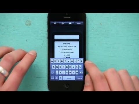 Renaming Photos on an iPhone : Tech Yeah!