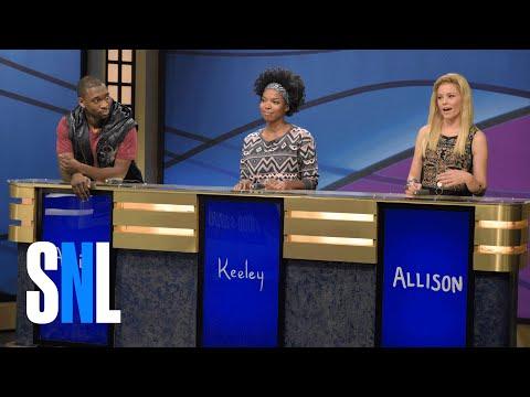 Black Jeopardy with Elizabeth Banks - SNL