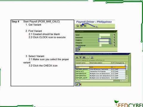 Tutorial: SAP HCM Payroll Processing Tutorial