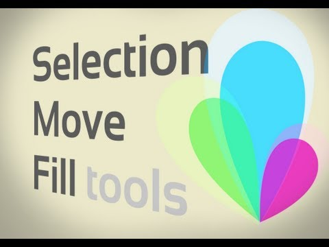 GIMP Basics: Selection, Move, and Fill Tools