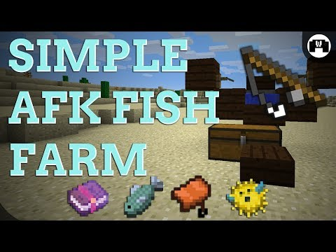 AFK Fish Farm TUTORIAL | 1.12.2 FRIENDLY , EASY , COMPACT