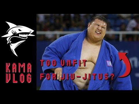 Can you train Gracie Jiu-Jitsu while fat? - Kama Vlog