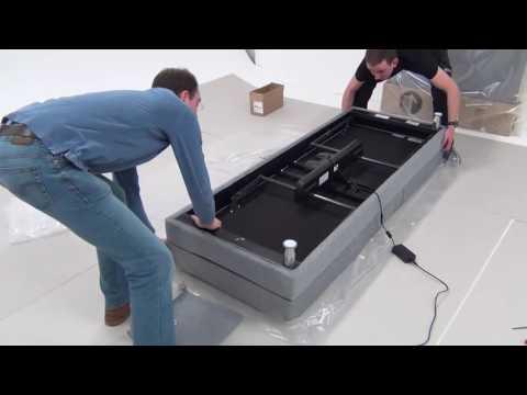 Velda Boxspring adjustable installation Video
