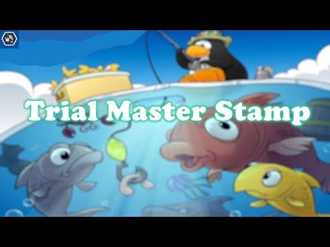 Ice Fishing Trial Master stamp on CPR