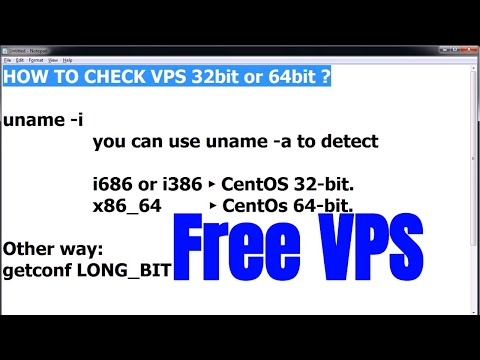 How to find vps is 32 or 64 bit