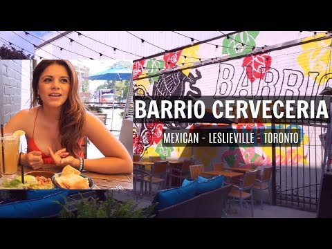 Barrio Cerveceria - Mexican in Leslieville