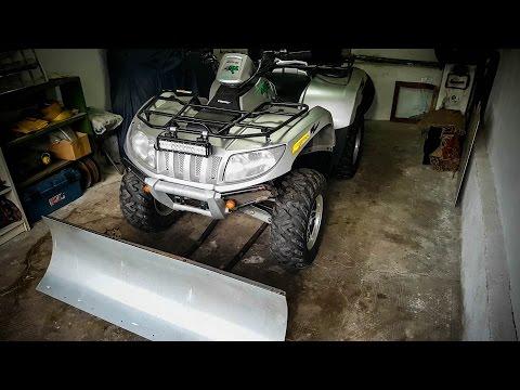 Building an ATV Snow Plow - Part 4