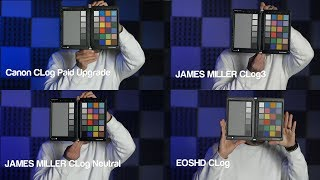 EOS HD C-LOG VS CINESTYLE BY TECHNICOLOR picture profiles on