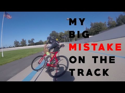 My Huge MISTAKE On My First Day At The Velodrome