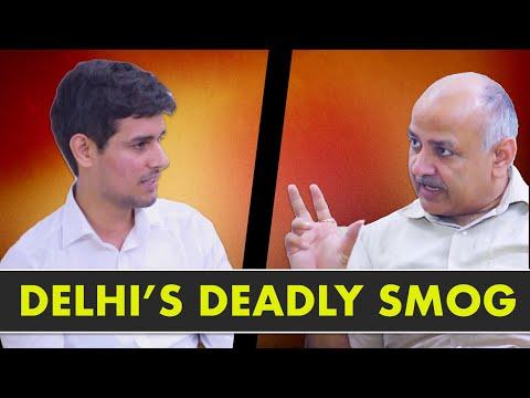 Manish Sisodia Exclusive Interview with Dhruv Rathee | Smog in Delhi & Odd-Even