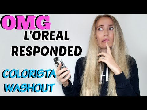 COLORISTA WASHOUT RUINED MY HAIR 🙊 | 6 Month FOLLOW UP | L'OREAL HAVE RESPONDED  (CC)