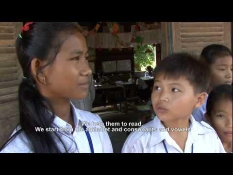 A Filipino volunteer in Cambodia