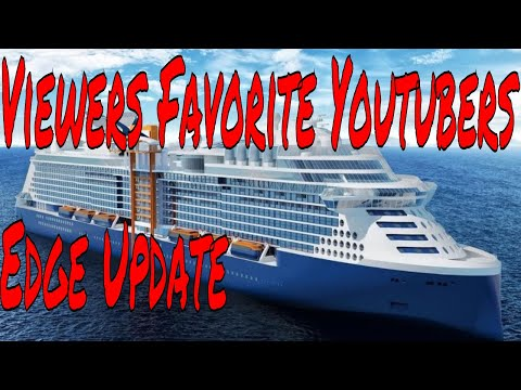 Viewers Tell Me About Their Favorite Youtube Channels And Celebrity Edge Spa Update