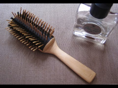 DIYでヘアーブラシ製作 DIY Hairbrush