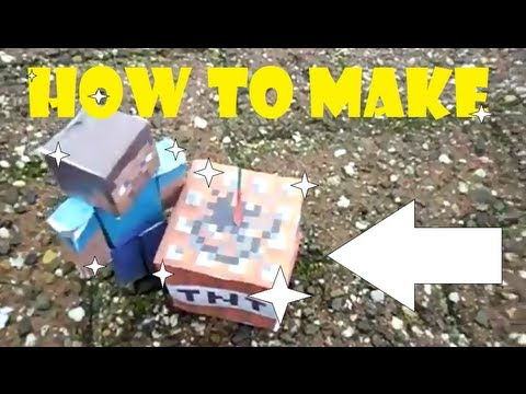 How to make a real life TNT!!