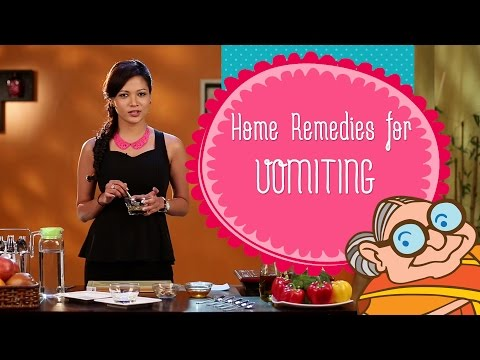 Vomiting And Nausea - Home Remedies To Stop Vomiting and Puking - Instant Relief