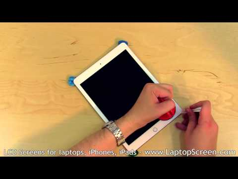 iPad Air 2  Glass & Screen Replacement (digitizer and LCD removal and installation)