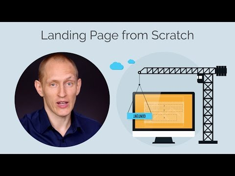 Step by Step: Creating a Landing Page from Scratch