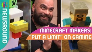 Minecraft makers on safety in the game and playing it too much