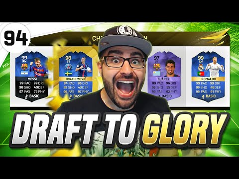INSANE LOWEST CHEMISTRY DRAFT WIN EVER! - DRAFT TO GLORY - FIFA 16 ULTIMATE TEAM #93