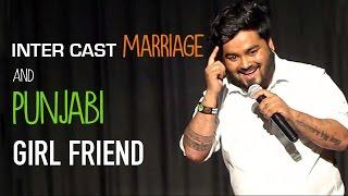 Punjabi Girl Friend | Stand Up Comedy By Nitin Mandal