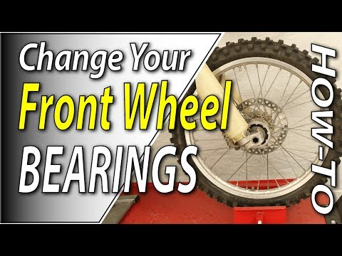 How To Change The Front Wheel Bearings On Your Dirt Bike | Fix Your Dirt Bike.com