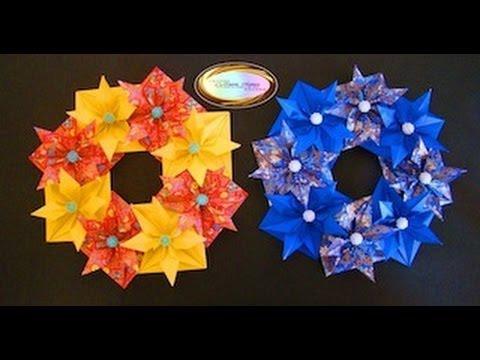 Origami Maniacs 93: Beautiful Christmas Wreath......