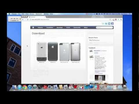How to Install iOS 5 on iPhone 2G, 3G, iPod Touch 1g and 2g w/ Whited00r