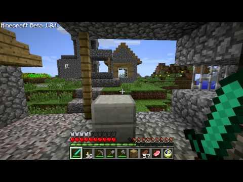 Abandoned village in Minecraft 1.8.1