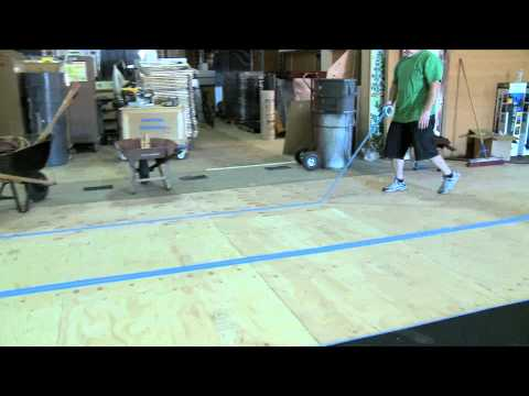 How to Install Rubber Workout Mats